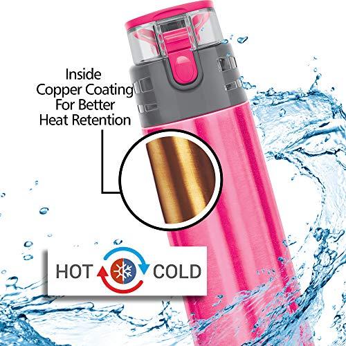 Milton Atlantis 900 Thermosteel Water Bottle Copper Plating