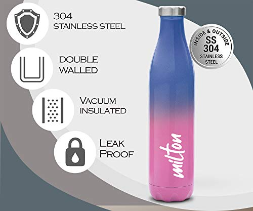 milton bliss 1100 thermosteel water bottle 1060ml